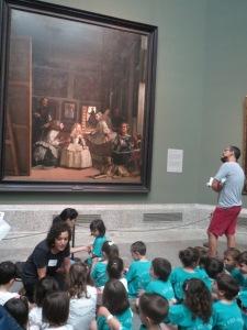 Taidekasvatusta ja keskittymistä Velázquezin äärellä