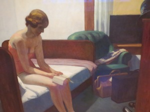 Edward Hopper: Hotel Room (1931)