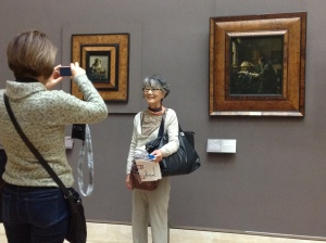 Eräs ikuistus Vermeerin mestaritöiden kanssa