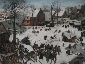 Pieter Brughel vanhempi teki edellä...