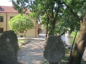 Gallerian kulmilla Užupisin kaupunginosassa