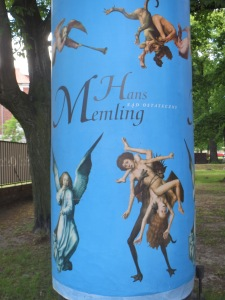 Museopihan mainos Memlingistä