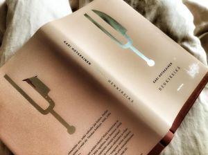 Elina Warsta on kotimaisen kirjankansitaiteen kärkeä, tässä taas taidonnäyte.
