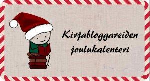 Joulukalenterin luukunhaltijat löytyvät Hyönteisdokumentti-blogista. Lofgon on tehnyt Yöpöydän kirjat -blogin Niina.