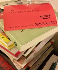 kirjamessukortti
